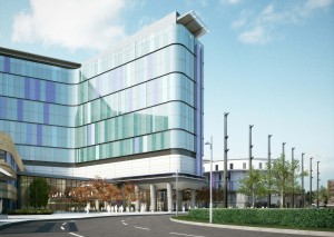 GlasgowHospital_005_Adult Hospital Main Entrance