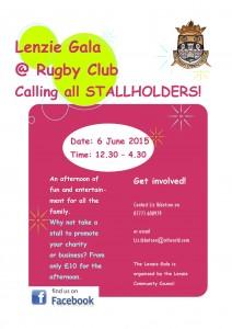 Calling all stallholders poster 2015